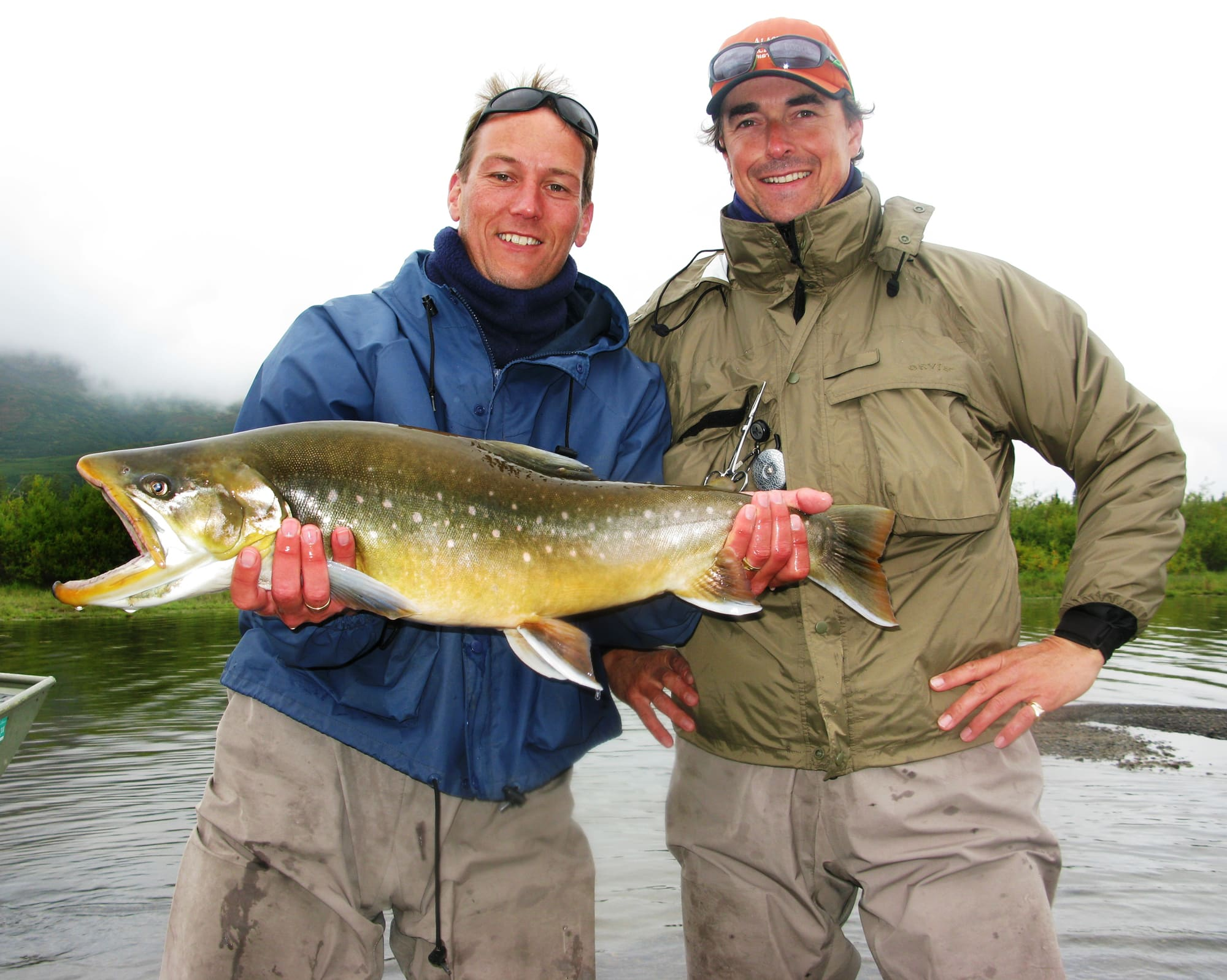 Alaska fishing_big Arctic Char